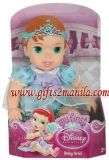 "12"" Soft Huggable Baby Ariel Doll"