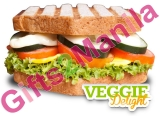The Sandwich Guy Veggie   Delight