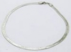Heavy set sterling silver necklace