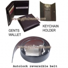 3pc Combo Set  ( Belt, Wallet N Keychain Holder)