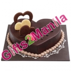 Tous Les Jours Chocolate   Heart Cake