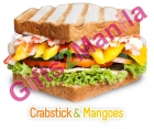 The Sandwich Guy Crabstick   n Mangoes