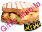 The Sandwich Guy Peanut   Butter Banana