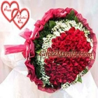 Stunning Red Bouquet