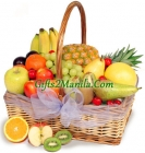 Season's abundance fruit basket